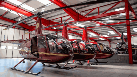 Helicopter Aircraft Model Parts